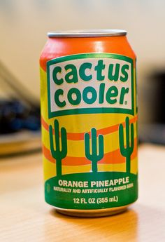 Cactus Cooler... had to have one after cross country practice.. from the vending machine..