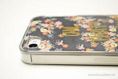 DIY iPhone cases under $2 -