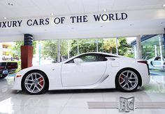 Whitest White Lexus LFA
