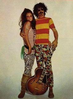 pictures of frank and gail zappa | ... ispirazione rock. Nello stile della coppia Frank Zappa e Gail Sloatman