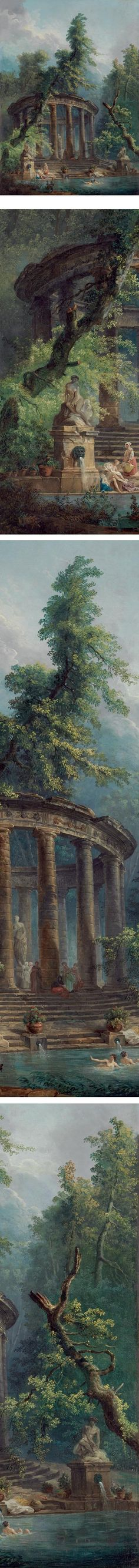 Eye Candy for Today: Hubert Robert architectural fantasy