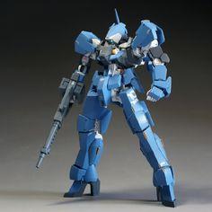 GUNDAM GUY: HG 1/144 Graze DA - Painted Build