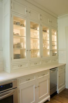 Kitchen Portfolio - Revival Construction ~ I like the drawers on the bottom of the cabinets.