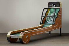 Vintage Arcade Skeeball from Restoration Hardware. Shop more products from Restoration Hardware on Wanelo.