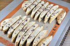 Chocolate Chip Almond Mandel Bread (biscotti)