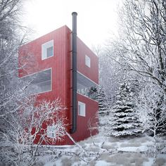 Container House - Container Homes - Who Else Wants Simple Step-By-Step Plans To Design And Build A Container Home From Scratch? Tiny Container House, Building A Container Home, Container Buildings, Container Architecture, Cargo Container, Smart Home Design, Modern House Design, Shipping Container Design, Types Of Architecture