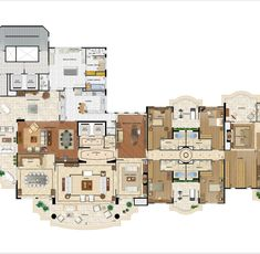 Apartment Floor Plans, Home Budget, Penthouses, Anatomy Drawing, Apartment Design, House Plans, Sweet Home, Multi Story Building, Presentation