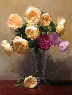 "Dennis Perrin  ""Gorgeous Roses"""