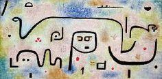 Paul Klee. Insula dulcamara, 1938.