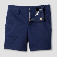 Toddler Boys' Chino Shorts - Cat & Jack Navy 5T, Navy Voyage