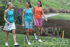 I played golf this summer in my running skirt.  Nice to know they now made a longer version for golfing! #running_skirts