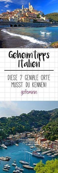 Wir präsentieren euch die schönsten Orte Italiens, die ihr unbedingt besuchen solltet.