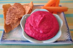 Red Beet & White Bean Hummus — Punchfork