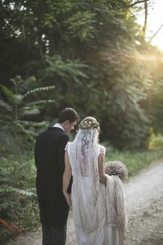 Inspiration For A Bohemian Wedding Wedding Veils, Boho Wedding, Dream Wedding, Wedding Day, Wedding Dresses, Perfect Day, Photo Couple, Woodland Wedding, Wedding Pictures