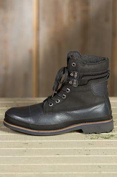 Men's Pajar Earl Waterproof Leather Boots by Overland Sheepskin Co. (style 55418)