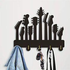 Decorative Wall Hooks, Guitar Hanger, Coat Hooks, Musical Instruments, Wall Mount, Musicals, Wall Decor, Amazon, Modern
