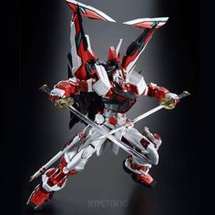 Gundam Seed VS Astray Perfect Grade 1/60 Plastic Model : MBF-P02Kai Gundam Astray Red Frame Kai #gundamseedvsastray #gundamastrayredframekai #gundam #gunpla #limited #hypetokyo