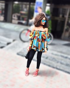 How to look stylish for spring in a African print