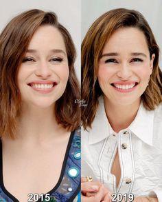 #EmiliaClarke Emilie Clarke, Emilia Clarke Hot, Alexandra Daddario, Many Faces, Actresses, Beautiful Women, Game, Stars, Hair