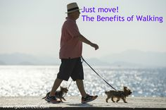 Just Move! The Benefits of Walking | Pow Effect