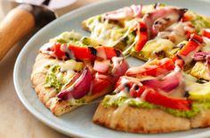 Just Veggin' Pita Pizza recipe