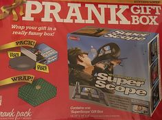 Large Prank Gift Box ~ WiFi/3G Rifle Super Scope ~ 14.75' x 14' x 4' >>> Click on the image for additional details.
