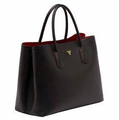 Bolsa Prada double bag replica