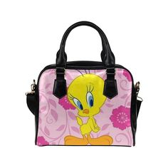 Angelinana Custom Women's Handbag One Tweety Bird Looney Tunes Fashion Shoulder Bag * Continue to the product at the image link.