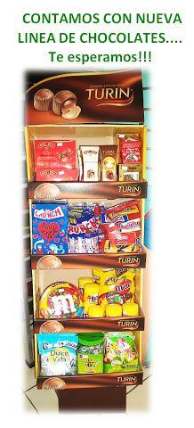#Contamos con #Nueva #Mercaderia de #Chocolates, ven y conocelos!!!