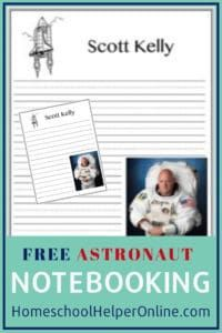 Free printable astronaut note booking page for Scott Kelly. Earth Science Activities, Space Activities, Science Experiments, Lap Book Templates, Scott Kelly, Science Notebooks, Free Printable, Printables, Astronauts