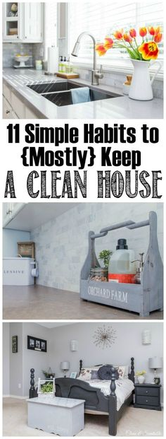 Keep a house clean a