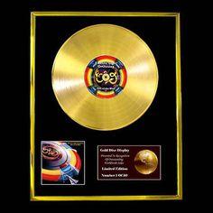 ELO VERY BEST OF CD GOLD DISC LP VINYL