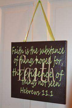 Love this scripture canvas