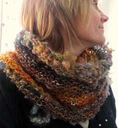 automne d'écharpe en tricot écharpe d'infini par beautifulplace