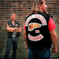 """Ralph Hubert """"Sonny"""" Barger a founding member of the Oakland, California, U.S. chapter of the Hells Angels Motorcycle Club. Description from nevilleelder.photoshelter.com. I searched for this on bing.com/images"""