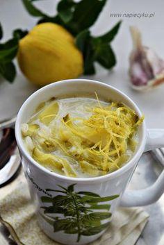 Zdjęcie: Zupa ogórkowa z cukinią i mietą