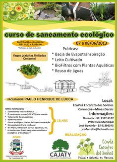 Curso de Saneamento Ecológico - Carrancas-MG - Rede PSB