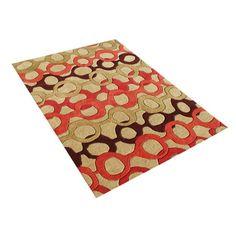 Love it! Alliyah Handmade Russet Brown New Zealand Blend Wool Rug (5' x 8') $159