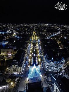 Timisoara, Romania: Christmas 2014 Places To Go, Skyline, Europe, Christmas 2014, Merry Christmas, Timisoara Romania, City, Vacation Ideas, Travel