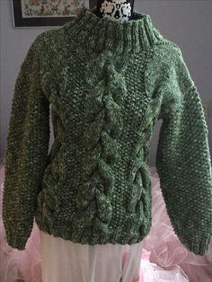 Een trui gebreid voor bestelling