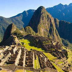 Machu Picchu - some day!