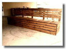 Patio Seating | Do It Yourself Home Projects from Ana White