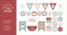 Odisea gráfica: Freebie: imprimibles para festejar la Navidad