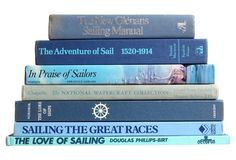 Blue Nautical Books, S/7