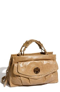 dfb51333998 Elliott Lucca 'Roma' Flap Front Satchel Handbags On Sale, Natural Leather,  Lucca