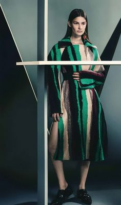 Ophélie Guillermand by Sebastian Kim for Vogue Germany July 2014 | Fashion photography | Editorial