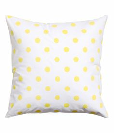 Polka dot cushion cover - also in turquoise | H&M US