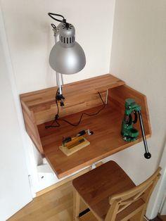 https://flic.kr/p/DCH4wB | my small reloading bench | .. for an apartment (Wiederladebank fürs Apartment)