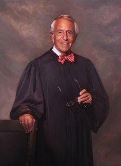 Judge Breyer By Oil Portrait Artist Scott Wallace Johnston