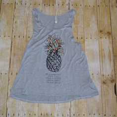 """M.A.D.E (@shopmadeclothing) on Instagram: """"""""Be a Pineapple"""" tank  sizes small-large $21 #beapineapple"""""""